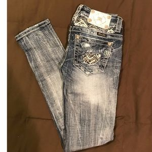 Women's Miss Me Size 25 Ankle Skinny Jeans